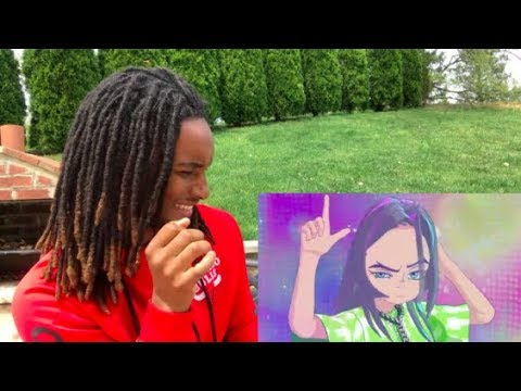 Billie Eilish - you should see me in a crown (Official Video By Takashi Murakami) REACTION