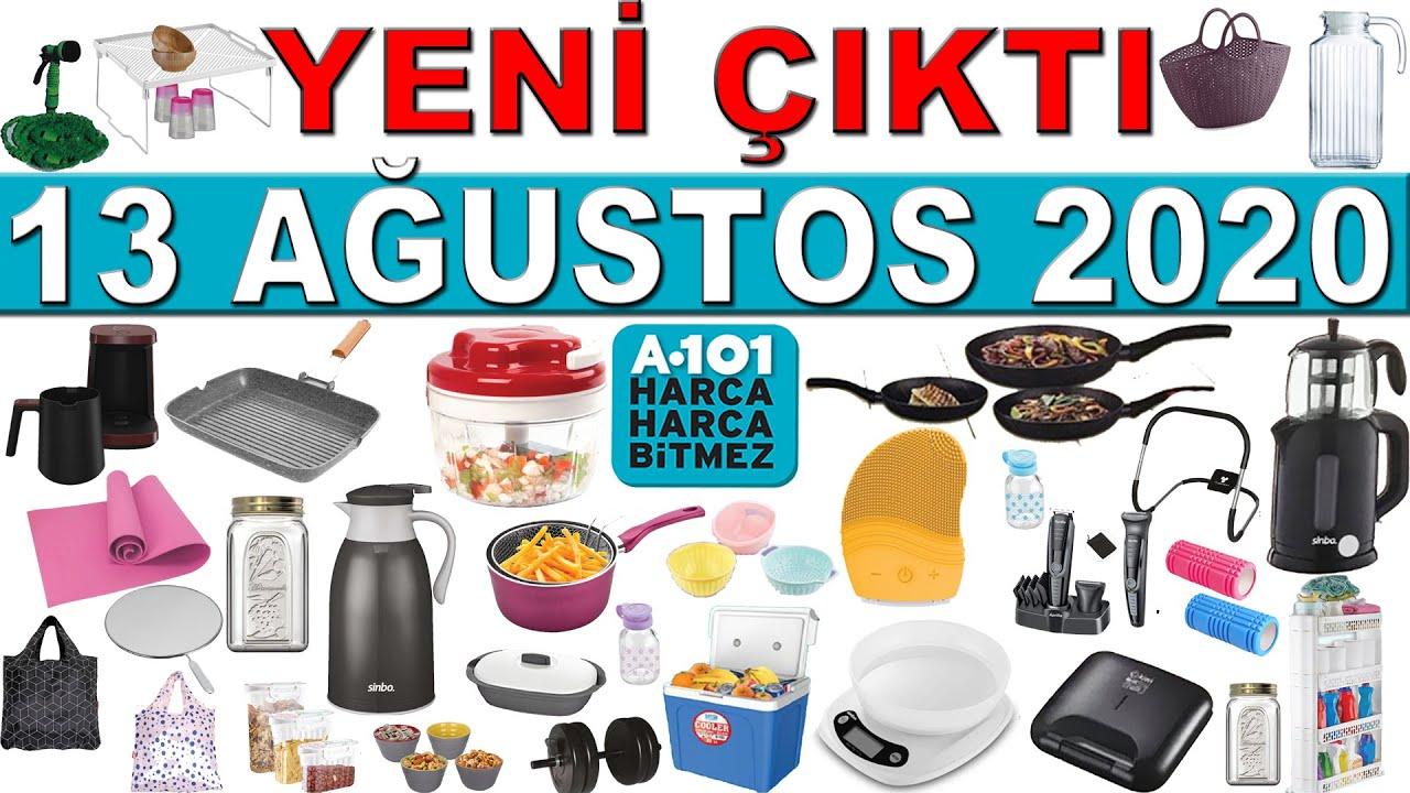 A101 13 Ağustos 2020 Kataloğu | A101 Deste Deste Aktüel Ürün | A101 Spor Ürünleri | A101 13 Ağustos