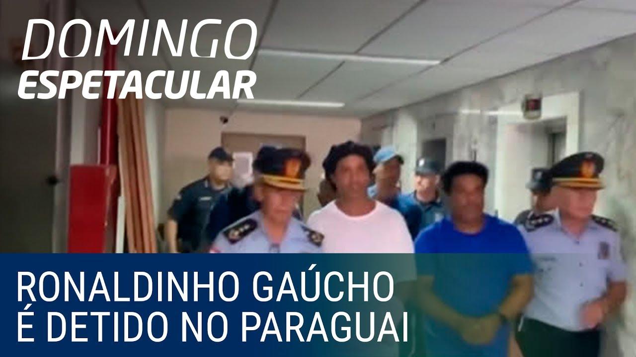 Ronaldinho Gaúcho é detido preventivamente no Paraguai por usar um passaporte falso