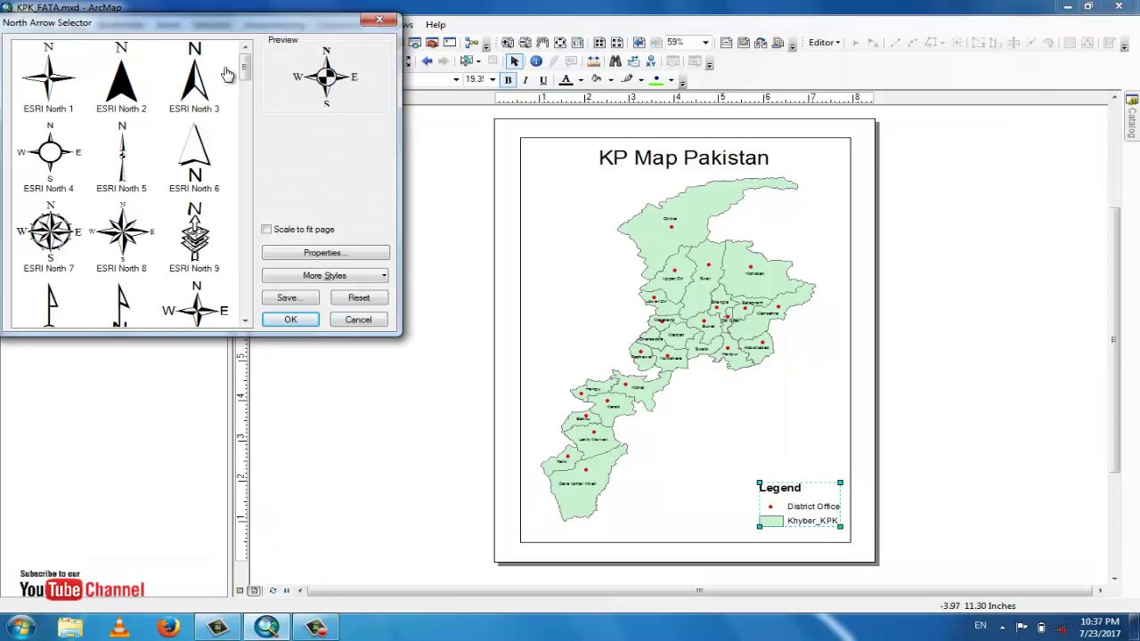 How To Make Map Layout In Gis Arcmap Create