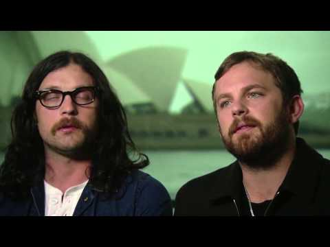 Hargrave Lane - Karl Stefanovic interviews Kings Of Leon