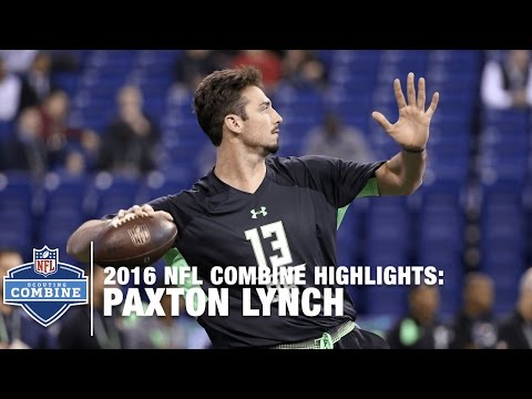 Paxton Lynch (Memphis, QB) | 2016 NFL Combine Highlights
