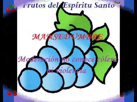 los frutos del espiritu santo para niños manualidades