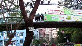 Dhanmondi 32 no lake পারে poilice..মানুষকে  ঢুকতে না দিয়ে কি করে...Boishakh police crime video 1