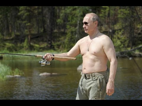 Vacationing anh fishing with Vladimir Putin in Siberia