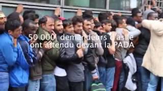 JO Paris 2024 - migrants réfugiés la réalité en 2017 10e, 19e arrondissement