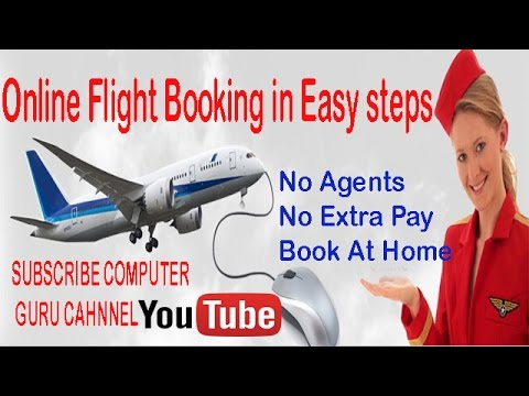 Online Flight Booking in Easy & Simple way from Home
