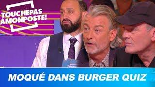 TPMP moqué dans le jeu de société Burger Quiz