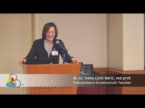 3. Međunarodni Kongres Nutricionista 2015. - dr. sc. Irena Colić Barić red. prof.