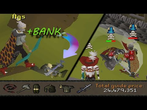 TRIPLED MY BANK OFF 1PK! (3b Hacked to Stacked) - Ep.2 - Oldschool Runescape Moneymaking Pking