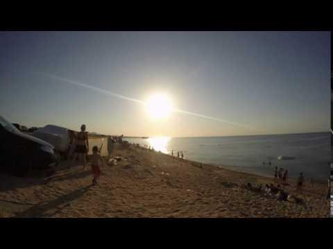 Bilgeh Sunset. Caspian Seaside