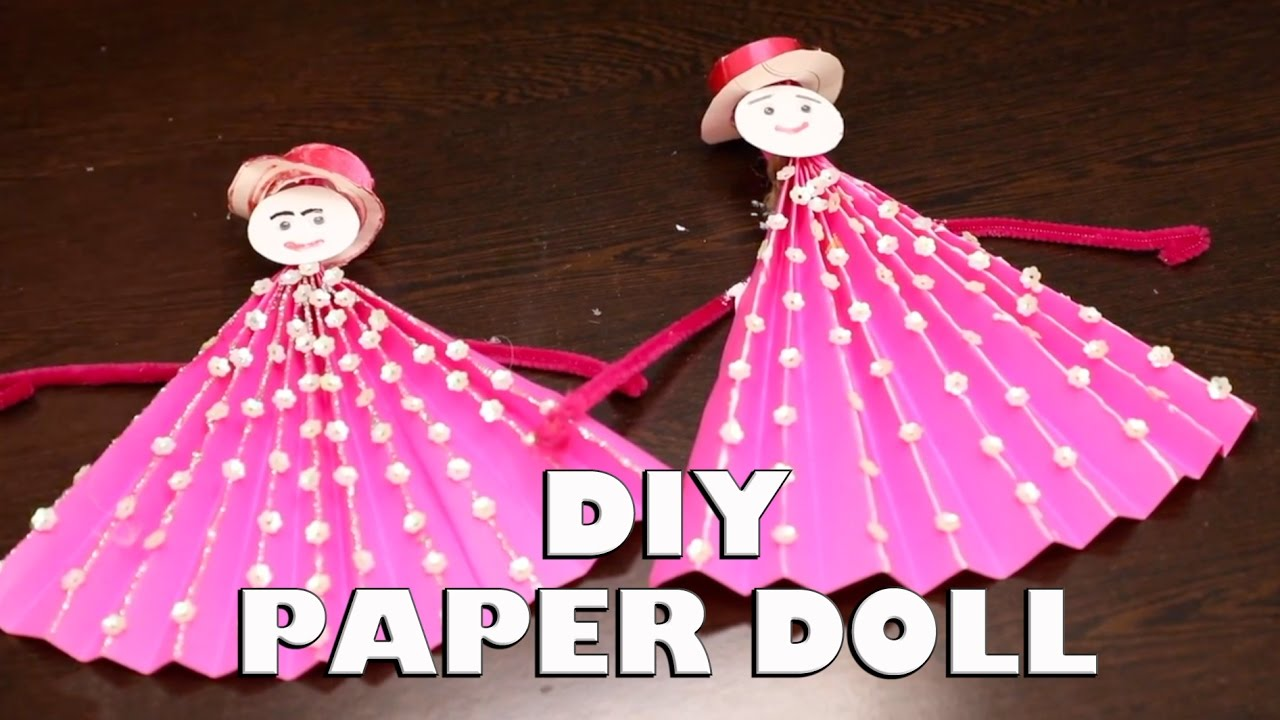 How to make a paper doll easy to do gifts for loved ones how to make a paper doll easy to do gifts for loved ones crafts and creations jeuxipadfo Image collections