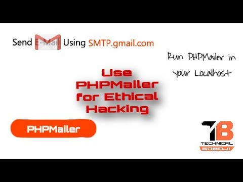 Send E-mail from your PHP code || PHPMailer || Ethical Hacking [Hindi/Urdu]