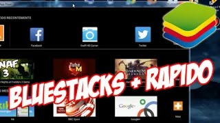 Como instalar e deixar o BLUESTACKS mais rápido #TUTORIAL