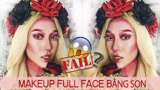 Challenge Full Face Makeup With Liquid Lipstick 2018 ft Sophia [Vanmiu Beauty]
