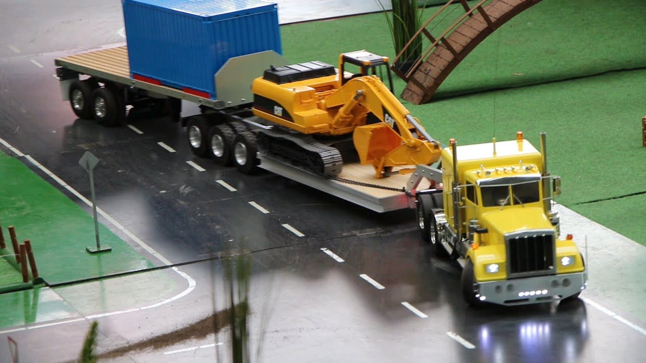 rc trucks schwertransporte welt des modellbaus xxl. Black Bedroom Furniture Sets. Home Design Ideas