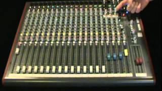 ZED 22FX Mixer Demo