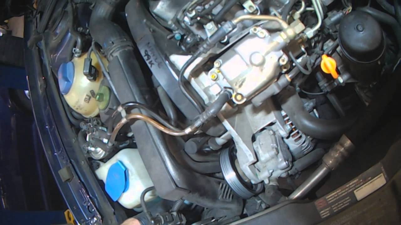 2004 saab 9 3 fuse diagram vw a4 alh tdi alternator removal youtube  vw a4 alh tdi alternator removal youtube