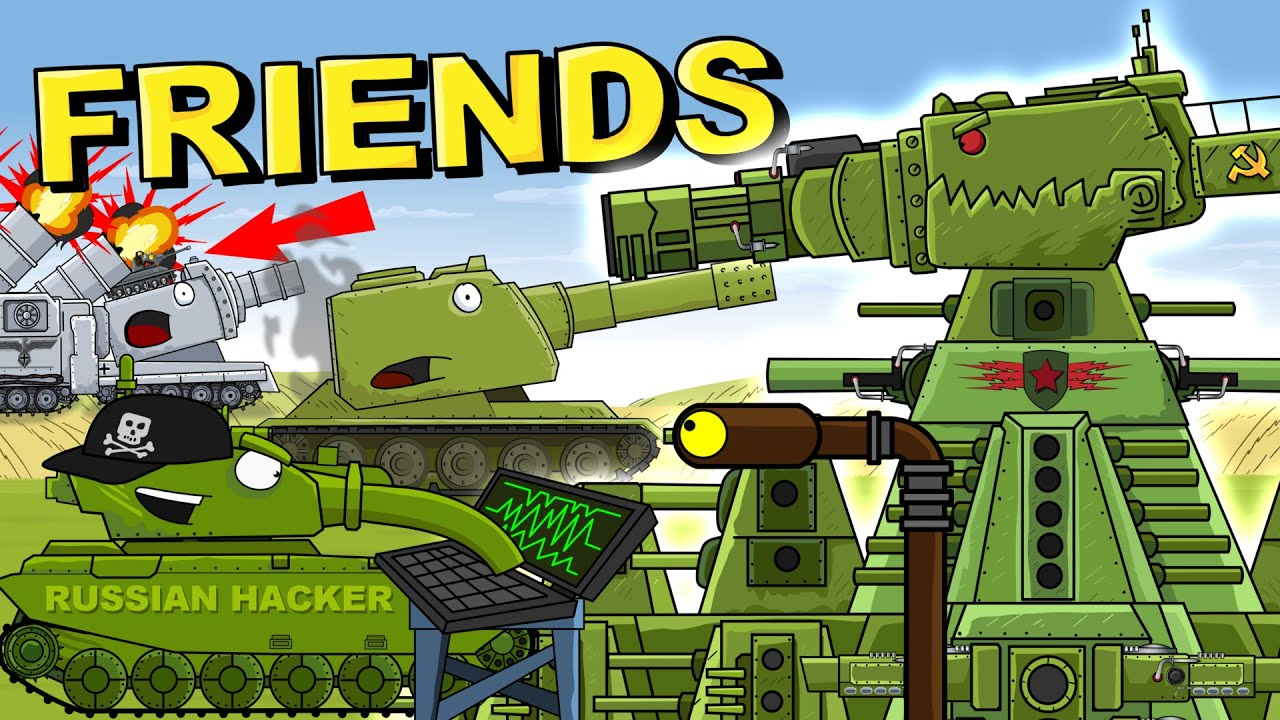 """""""Iron Friends of KV99"""" Cartoons about tanks"""