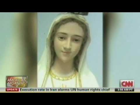 It's A Miracle, Virgin Mary Statue Sheds Tears