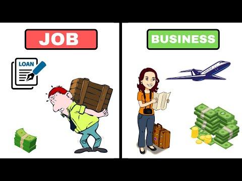 JOB VS BUSINESS शोक पुरे करना है या बस ज़रुरत ? 7 ADVANTAGES BUSINESS MOTIVATION