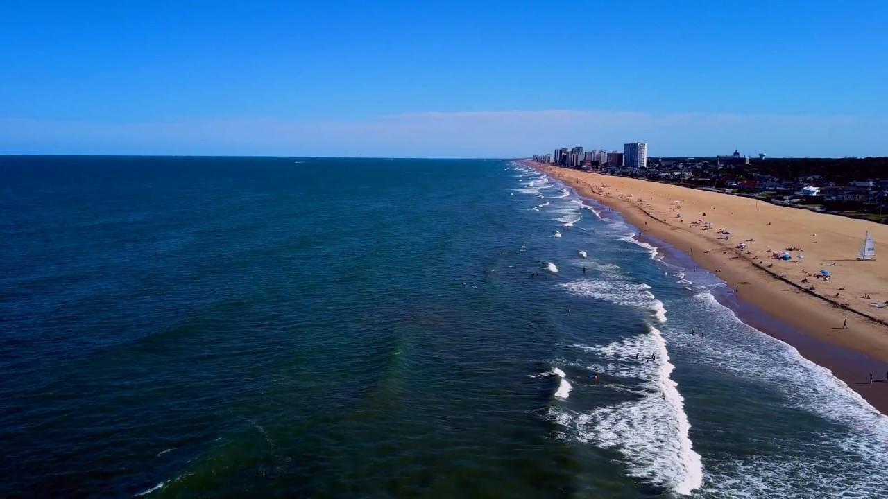 Dji Virginia Beach Oceanfront Drone View