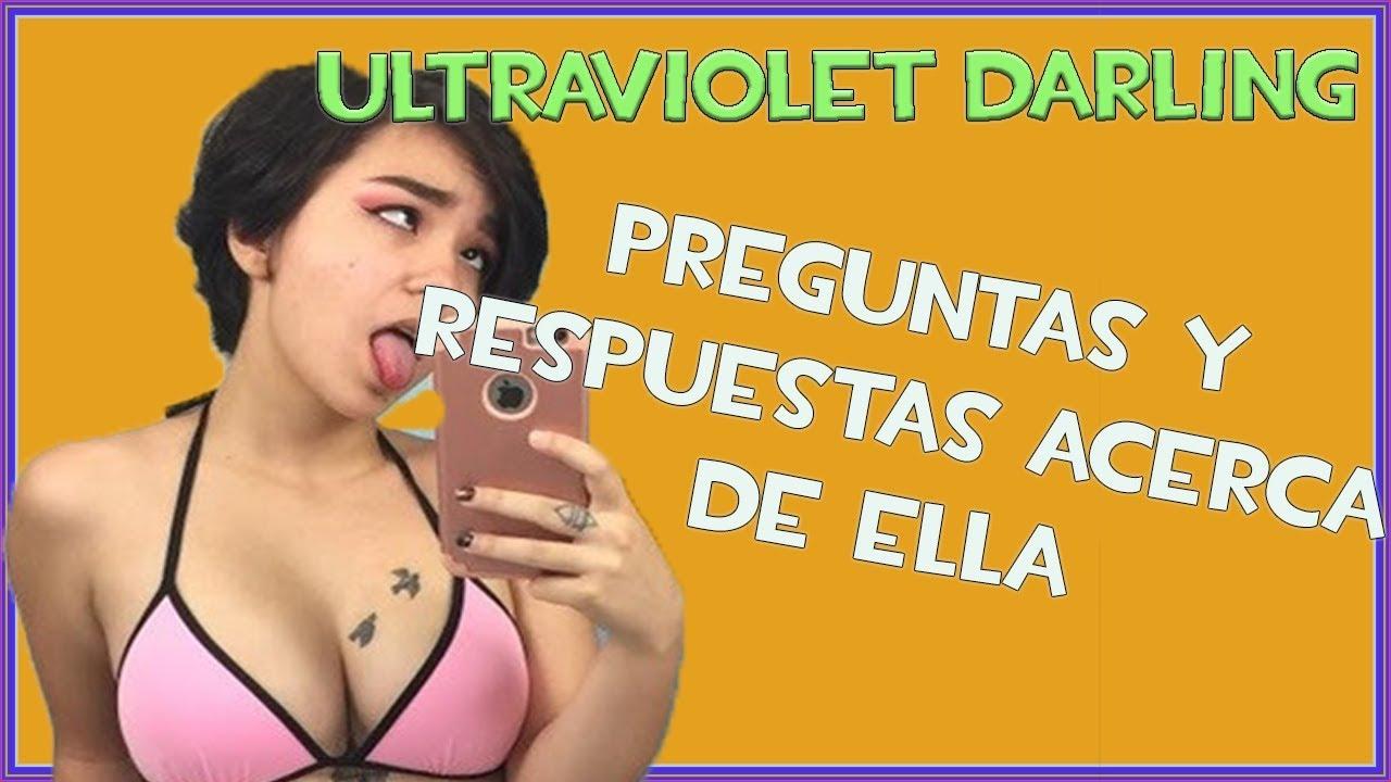 Violet darling ultra ultraviolet_darling :