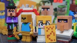 MINECRAFT БЕЗУМИЕ В ВИДЕ LEGO ИЗ КИТАЯ