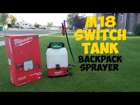 milwaukee-m18-switch-tank-4-gallon-backpack-sprayer-review-|-turfgrass-pro-liquid-fertilizer-app