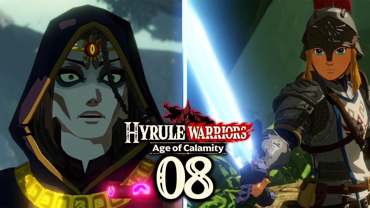 Hyrule Warriors Age Of Calamity The Master Sword Awakens Youtube