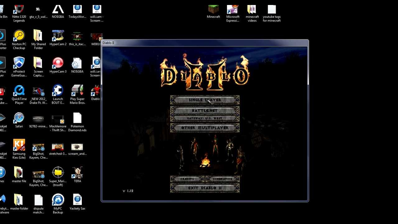 How To Make Diablo 2 Windowed Mode