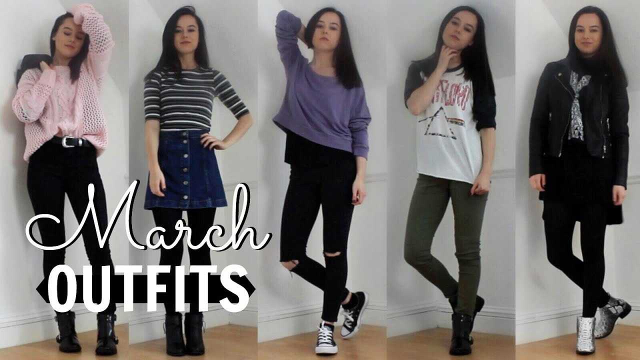 MARCH OUTFITS OF THE WEEK 2016