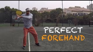 How To Hit Perfect Forehand | Learning From Scratch (TENFITMEN - Episode 53)