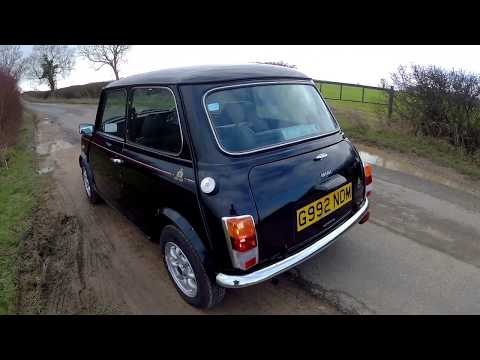 classic-austin-mini-30-edition-15k-mile-one-owner-survivor---first-drive-and-mot