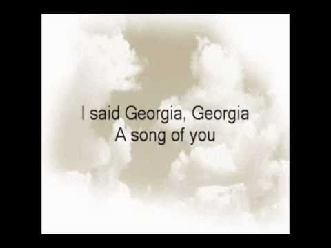 Ray Charles - Georgia on my mind - Lyrics