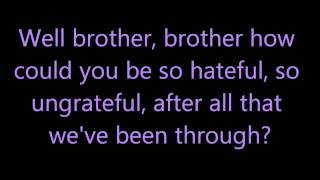 Pinhead Gunpowder - Brother [Lyrics]