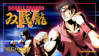 Double Dragon 4 Combos and Funny Moments