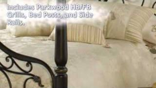 Parkwood Bed - Hillsdale Furniture