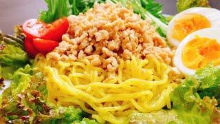 Ramen Salad | Kottaso Recipe's recipe transcription