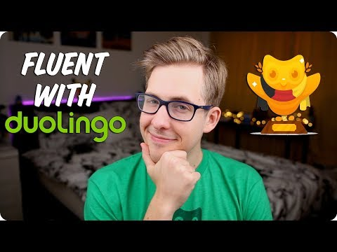 Fluent in German with Duolingo