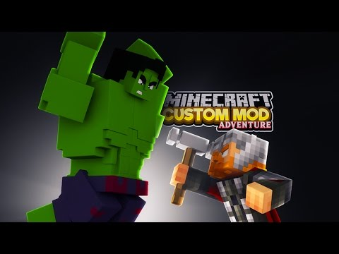 Minecraft - THOR VS HULK - RAGNAROK - Custom Mod Adventure thumbnail