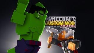 Minecraft - THOR VS HULK - RAGNAROK - Custom Mod Adventure