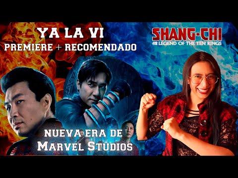 SHANG CHI ???? una propuesta diferente ???????? NO es la entrada típica de UCM / Premiere en Colombia