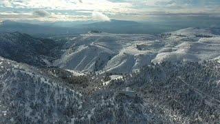 Snowfall turns Athens into winter wonderland
