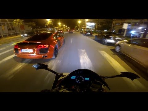 Night-Ride With An XTX 660 - Casablanca By Night - Cruising