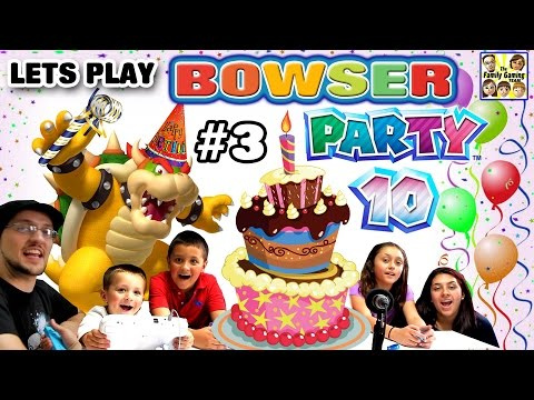 Thumbnail: Lets Play MARIO PARTY 10! Bowser Party in Mushroom Park! (FGTEEV 5 Player FAMILY GAMEPLAY Part 3)