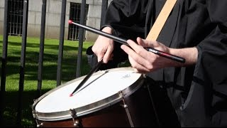 Drumming Up Commencement Enthusiasm | Davis Wimberly, Ed.M.'10