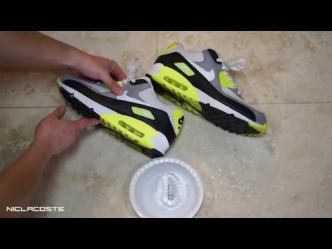 How to Clean Nike Air Max 90 with Jason Markk Shoe Cleaner | 2016