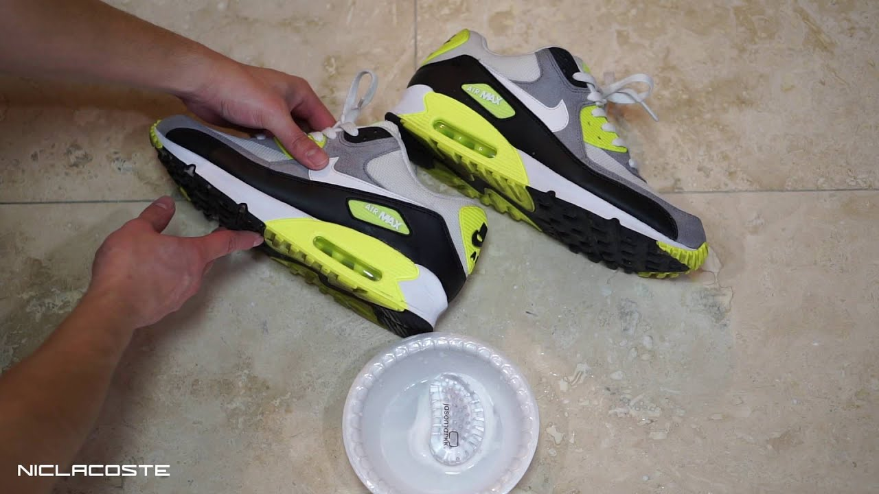 How to Clean Nike Air Max 90 with Jason