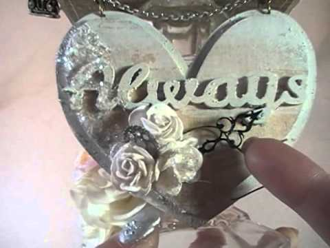 Shabby Chic Altered Home Decor (DT Project for Reneabouquets)